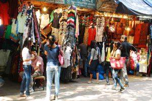 Shopping at the local Tibetan market - Navbharat Tours